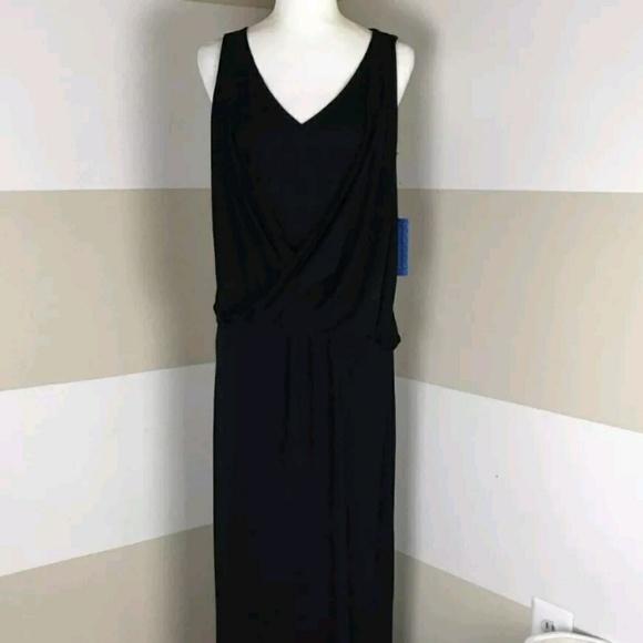 63927bb8f60 NWT Simply Vera Vera Wang Twist Front Maxi Dress